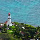 Honolulu lighthouse by raymona pooler