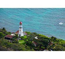 Honolulu lighthouse Photographic Print