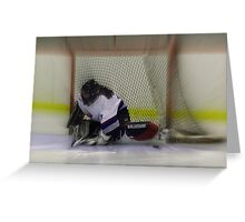 She Scores......... Greeting Card