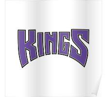 Sacramento Kings Jersey Logo Poster