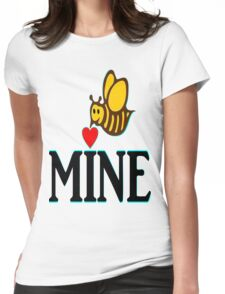 °•Ƹ̵̡Ӝ̵̨̄Ʒ♥Bee Mine-Cute HoneyBee Clothing & Stickers♥Ƹ̵̡Ӝ̵̨̄Ʒ•° Womens Fitted T-Shirt