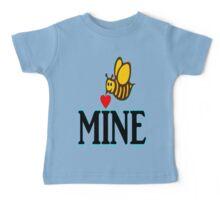 °•Ƹ̵̡Ӝ̵̨̄Ʒ♥Bee Mine-Cute HoneyBee Clothing & Stickers♥Ƹ̵̡Ӝ̵̨̄Ʒ•° Baby Tee