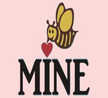 °•Ƹ̵̡Ӝ̵̨̄Ʒ♥Bee Mine-Cute HoneyBee Clothing & Stickers♥Ƹ̵̡Ӝ̵̨̄Ʒ•° Kids Tee