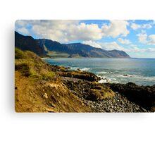Tropical paridise on Hawaii Canvas Print