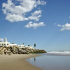 Beach Resort on a Sunny Day by Joshua McDonough Photography