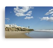 Beach Resort on a Sunny Day Canvas Print