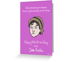 Austen Greeting Card
