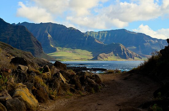 West coast of Oahu Hawaii by raymona pooler