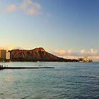 Majestic Diamond Head mountain by raymona pooler