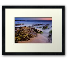 Pearl Point at Dusk Framed Print
