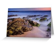 Pearl Point at Dusk Greeting Card