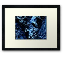 iced water Framed Print