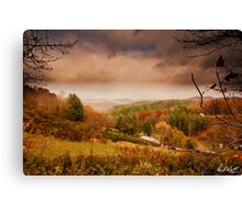 Yancey County, North Carolina Canvas Print