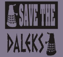 Save the Daleks Kids Clothes