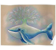 Whale Tree Poster