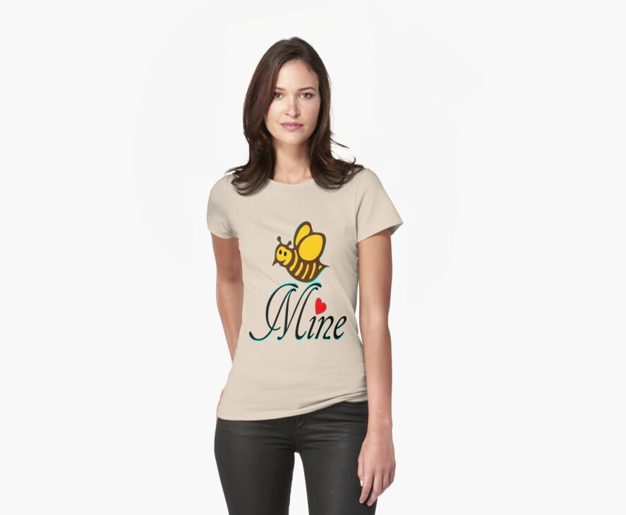 °•Ƹ̵̡Ӝ̵̨̄Ʒ♥Bee Mine-Cute HoneyBee Clothing & Stickers♥Ƹ̵̡Ӝ̵̨̄Ʒ•° by Fantabulous