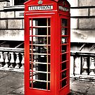 Seedy Whitehall Phonebox by DavidWHughes