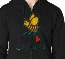 °•Ƹ̵̡Ӝ̵̨̄Ʒ♥Bee Mine-Cute HoneyBee Clothing & Stickers♥Ƹ̵̡Ӝ̵̨̄Ʒ•° Zipped Hoodie