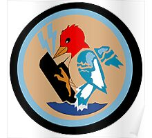 VP-49 Woodpeckers Poster