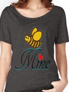 °•Ƹ̵̡Ӝ̵̨̄Ʒ♥Bee Mine-Cute HoneyBee Clothing & Stickers♥Ƹ̵̡Ӝ̵̨̄Ʒ•° Women's Relaxed Fit T-Shirt
