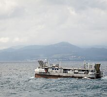 French Navy Amphibious Landing Catamaran by Joshua McDonough Photography