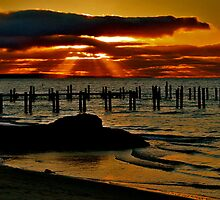Sunset @ Busselton by Mark  Nangle
