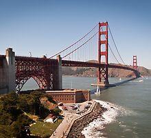Golden Gate Bridge - San Francisco, CA (USA) by Joshua McDonough
