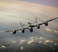 Lone Lancaster by Gary Eason + Flight Artworks