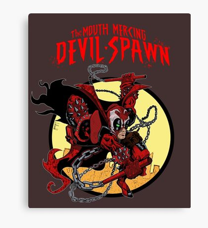 The Mouth Mercing Devil-Spawn Canvas Print