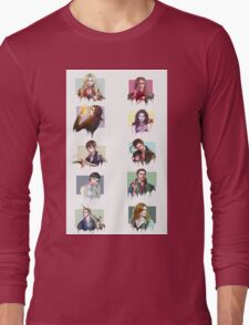 (PART 2) Once Upon a Time all characters Long Sleeve T-Shirt