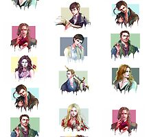 (PART 2) Once Upon a Time all characters by thececilz