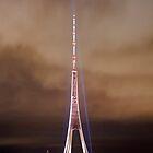 TV tower, Riga, Latvia by paulsrphoto