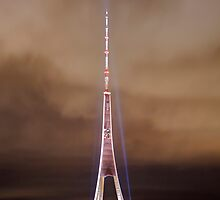 TV tower, Riga, Latvia by paulsrphoto