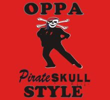 ★ټPirate Skull Style Hilarious Clothing & Stickersټ★ Baby Tee