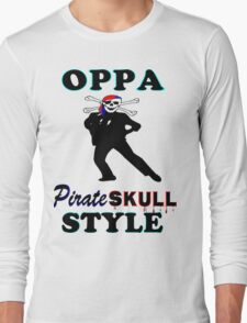 ★ټPirate Skull Style Hilarious Clothing & Stickersټ★ Long Sleeve T-Shirt