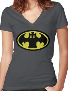 Batardis (Classic) Women's Fitted V-Neck T-Shirt