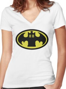 Batardis (Classic) Women's Fitted V-Neck T-Shirt