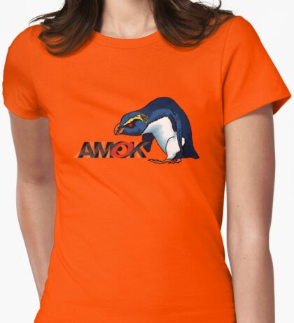 AMOK - VXP Womens Fitted T-Shirt