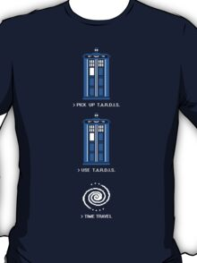 8-Bit Adventure - Doctor Who Shirt T-Shirt