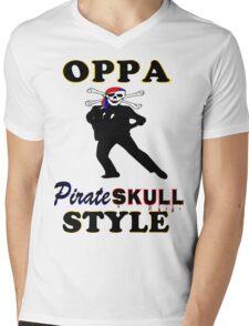 ★ټPirate Skull Style Hilarious Clothing & Stickersټ★ Mens V-Neck T-Shirt