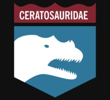 Dinosaur Family Crest: Ceratosauridae Kids Clothes