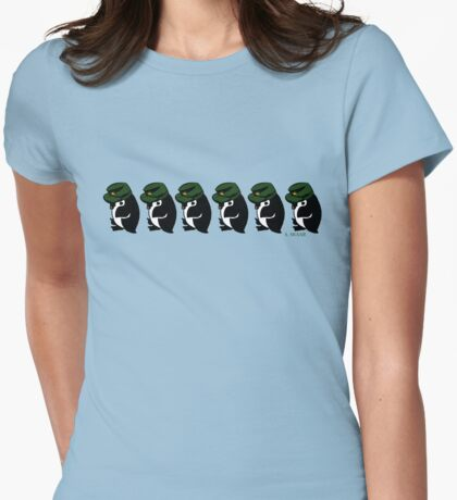 Cold Warriors Womens Fitted T-Shirt