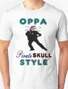 ★ټPirate Skull Style Hilarious Clothing & Stickersټ★ Unisex T-Shirt