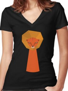 Lio Women's Fitted V-Neck T-Shirt