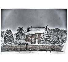 Snow House in the Snow Poster