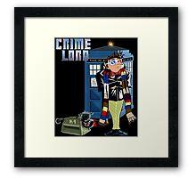 Crime Lord Framed Print