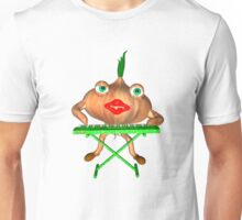 Onion Peels keyboard by Valxart Unisex T-Shirt