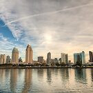 San Diego Skyline by Joshua McDonough