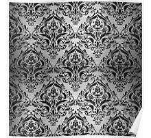DMS1 BK MARBLE SILVER (R) Poster