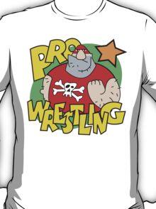 """Funny Wrestling """"Pro Wrestler"""" T-Shirt"""